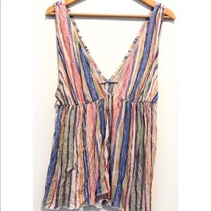 Urban Outfitters multi color tank, Large